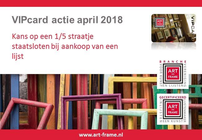 VIPactie april 2018